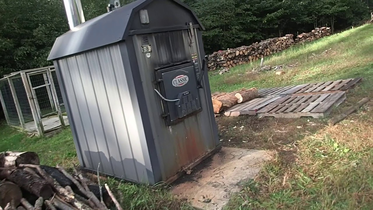 Diagnosing Problems with Outdoor Wood Boiler (Central Boiler 5036)
