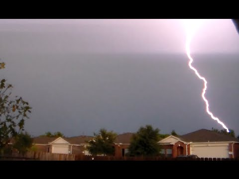 Rainbow leads to House Struck by LIGHTNING! – Weather Channel