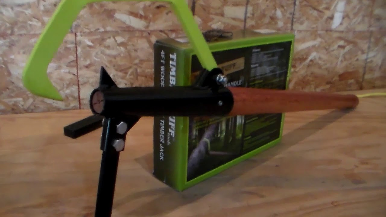 Timber Tuff Cant Hook & Timber Jack Review